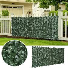 Bpil Artificial Ivy Hedge Privacy Fence Buy Online In Jamaica At Desertcart