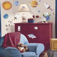 Zoomie Kids Sanchez Outer Space Wall Decal Reviews Wayfair