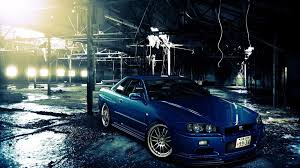 nissan skyline gtr r34 wallpapers group