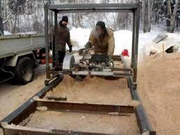 swing blade sawmill you