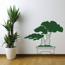 Bonsai Wall Decal Style And Apply
