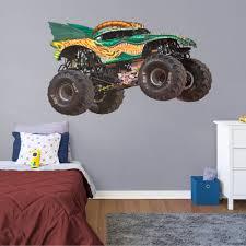 Fathead Dragon Huge Officially Licensed Monster Jam Removable Wall Decal Walmart Com Walmart Com