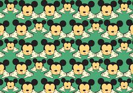 Mickey Pattern Free Vector Art - (5 Free Downloads)