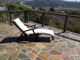 Cable Fence For Stone Patio Contemporary Patio San Diego By San Diego Cable Railings