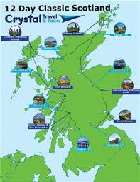 12 day clic scotland self drive tour