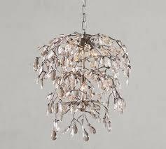 bella crystal round chandelier