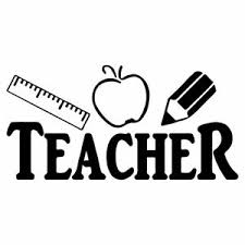 7 Teacher Vinyl Decal Sticker Car Window Laptop Teach School Learn Educator Ebay