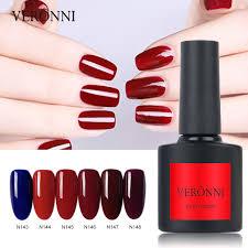 veronni nail polish series varnish led