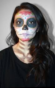 day of the dead makeup 2019