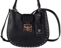 mcm new trisha small studded purse