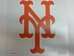 New York Mets Colored Window Die Cut Decal Wincraft Sticker 8x8 Mlb Sports City Hats