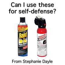 does bear spray or wasp spay work for