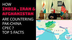 how india iran afghanistan are