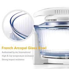 french arcopal glass bowl 12l 17l oil