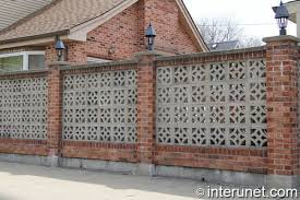 Cost To Build A Brick Block Privacy Fence