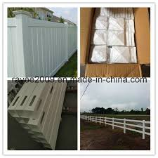 China White Tan Gery And Black Plastic Vinyl Pvc Plastic Fence China Plastic Fence