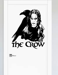 The Crow Gothic Movie Brandon Lee Legend Wall Art Sticker Home Decor Boys Bedroom Vinyl Decal Living Room Removable Mural E581 Buy At The Price Of 7 35 In Aliexpress Com Imall Com