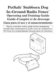 Http Www Animaltrainingsystems Com Au Content Petsafe Stubborn Dog Fence Manual Pdf