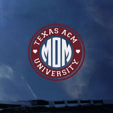 Texas A M Aggies Color Shock Seal Decal Barnes Noble At Texas A M