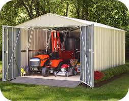10x15 commander metal storage shed kit