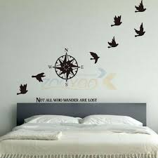60 94cm Viny Compass Wall Stickers Home Decor Creative Wall Decal Decorative Removable Vinyl Wall Sticker Creative Home Decor Olivia Decor Decor For Your Home And Office