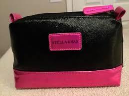 stella max cosmetic bag black
