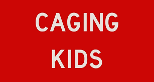 Stop Caging Kids Stop Sign Sticker By Localjo Redbubble