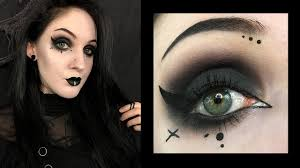 dark gothic makeup sd tutorial