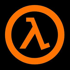 Amazon Com Half Life Logo 4 Decal Sticker For Cars Laptops Tablets Skateboard White Computers Accessories
