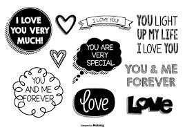 cute love doodles free