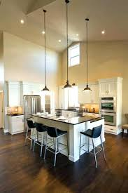 long pendant lights for vaulted