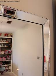 hang a heavy full length leaner mirror