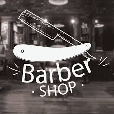 Barber Shop Wall Art Cut Throat Razer Traditional Barbers Etsy