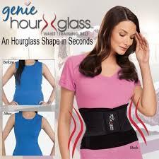 genie hourglass shape waist athletic