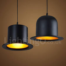 black metal hat shape 1 light retro