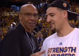 """Showtime Lakers who? Mychal Thompson thinks the Warriors are Better"""""""