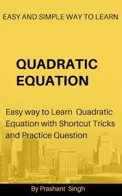 quadratic equation ebook by prashant