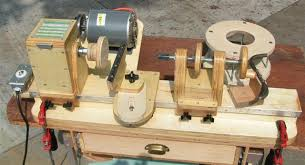 homemade mini wood lathe plans