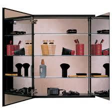 robern tri view door medicine cabinets