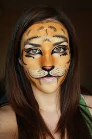 easy tiger face painting ideas for fun