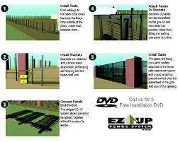 Installing Ornamental Fence Has Never Been Ez Er The Ez Up Fence System Has Proven To Be The Fastest And Most Cost Effective Ornamental Fence Solution In The Industry Perfectly Suited For Projects With Irregular Or Inexact Post Settings The Unique Rail