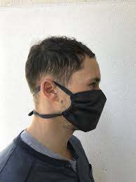 Cloth Face Mask with Ties - 100 ...