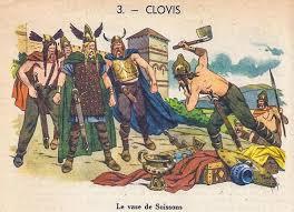 📙 CLOVIS - Le vase de Soissons 👉 Belles histoires de France, 1951 (3/36)