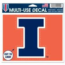 University Of Illinois Stickers Decals Bumper Stickers