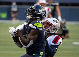 Seahawks' DK Metcalf rumbles with Patriots Stephon Gilmore | Tacoma News  Tribune