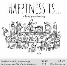 there is nothing better than gathering family happy family