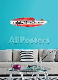 Shark Board Wall Decal Sticker Wall Decal Allposters Com