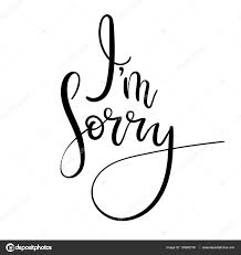 ᐈ i m sorry stock images royalty free