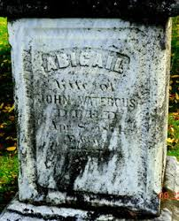 Abigail Barnes Waterous (Unknown-1871) - Find A Grave Memorial