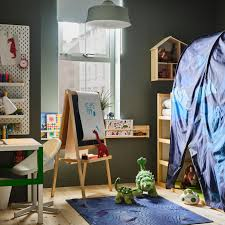 A Dreamy Children S Room With Lots Of Dinosaurs Ikea